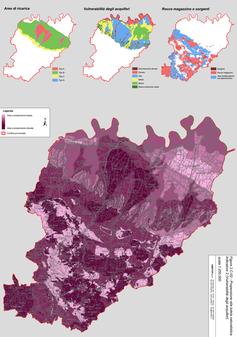 Propensione alla tutela naturalistica PTCP di Piacenza